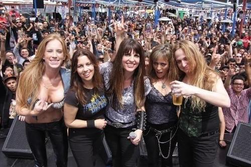 Puta de bandas de rock femeninas